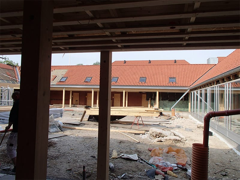 renovering af en skole