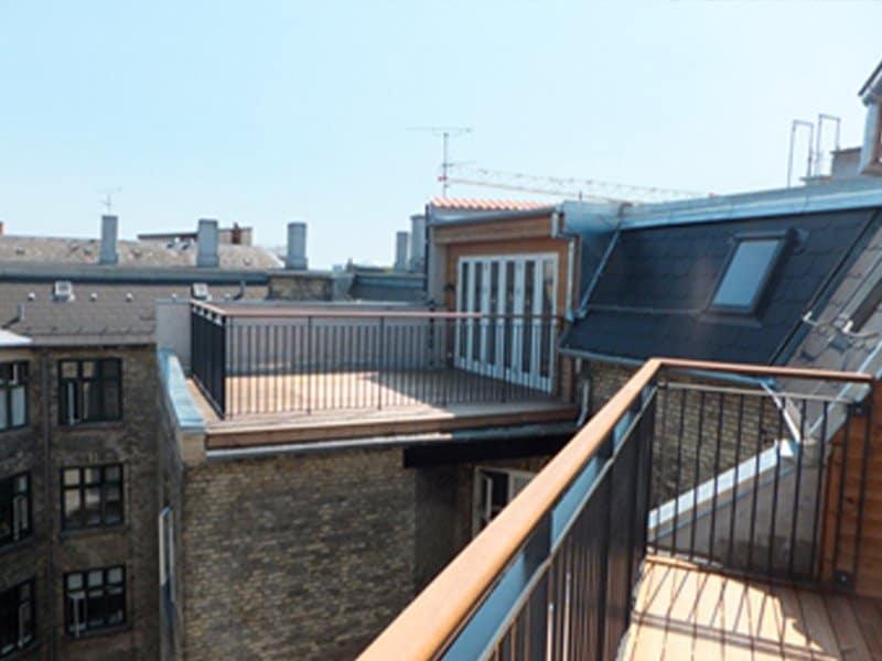 altaner og tagterrasser