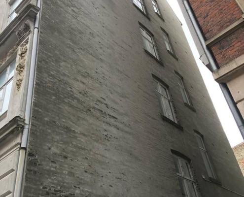 bygherrerådgivning i forbindelse med renovering af facade
